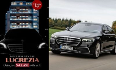 Get A Free Brand New Mercedes S-Class When You Buy Apartment In Banana Island, Lagos, From Sujimoto - autojosh
