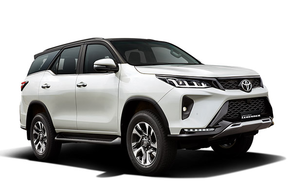 2021 Toyota Legender 4×4 Launched In India (PHOTOS)