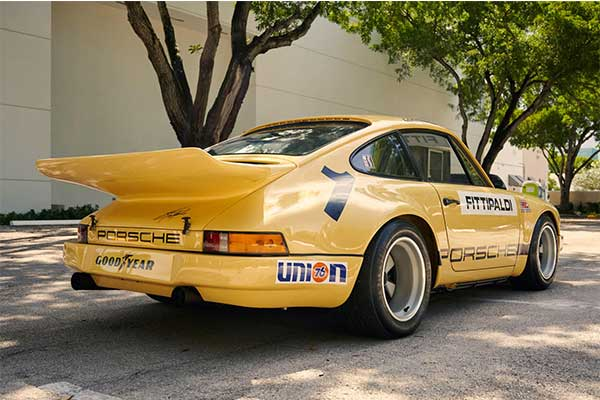 A 1974 Porsche 911 RSR Owned By Drug Lord Pablo Escobar Is Up For Auction