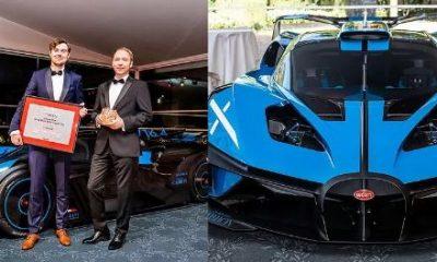 $4.6M Bugatti Bolide Named The World's Most Beautiful Hypercar - autojosh