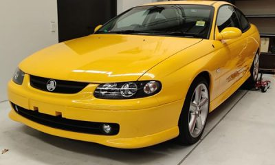 First And Last Monaro CV8 Set To Be Auctioned Off - autojosh