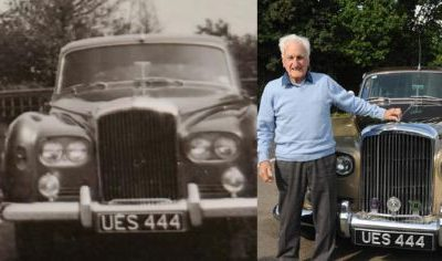Grandfather Gets 1964 Bentley As 100th Birthday Gift, 57 Years After Driving It As A Chauffeur - autojosh