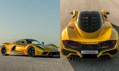 Walkaround Of Sold Out $2.1M Hennessey Venom F5, Just 24 Will Be Built - autojosh