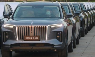 First Norway-bound Shipment Of Hongqi E-HS9 Luxury Electric SUV Leaves China, Starts At $72K - autojosh
