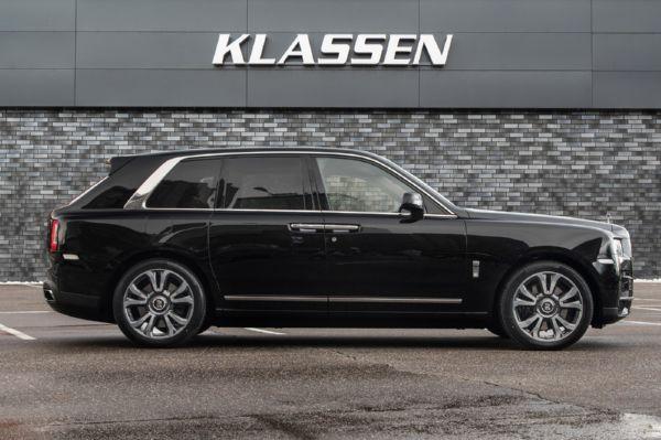 Klassen Armored Rolls-Royce Cullinan SUV - autojosh