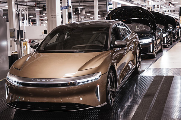 First Customer Lucid Air EVs Rolls Off The Assembly Line - autojosh