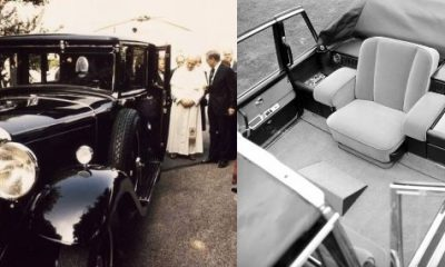 Mercedes Popemobiles Through The Years, Starting From Nürburg 460 Limo, Delivered 91 Years Ago - autojosh