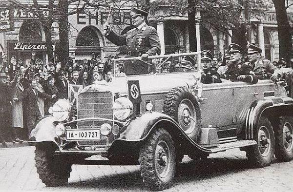 Mercedes-Benz W31 Type G4 6-Wheeler Designed For Adolf Hitler And His Generals - autojosh