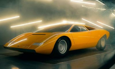 Lamborghini Spent 25,000 Hours To Build A New 1971 Countach LP500 From Scratch For A Collector - autojosh