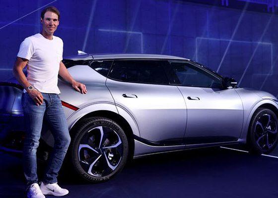 Tennis Star Rafael Nadal Gets Customized Kia EV6 GT-Line - autojosh