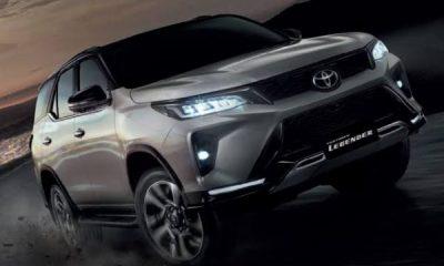 Toyota Launches 2021 Fortuner Legender 4×4 SUV - autojosh