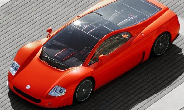 Volkswagen Once Built A 12-Cylinder Nardo Coupe To Prove To The World It Can Build A Supercar - autojosh
