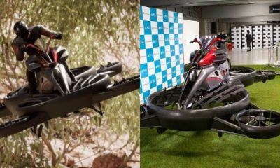 ₦279m Hoverbike Now Available For Pre-order - But You Can Only Fly For 40-mins At A Time To Beat Nigerian Traffic - autojosh