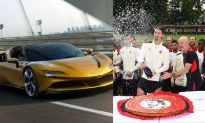 Zlatan Ibrahimovic Buys N380m Ferrari SF90 Stradale E.V For His 40th Birthday - autojosh
