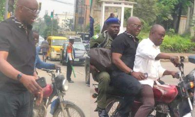 Lagos Traffic : Ex-Ekiti Gov. Ayodele Fayose Boards Okada To Avoid Missing His Flight - autojosh