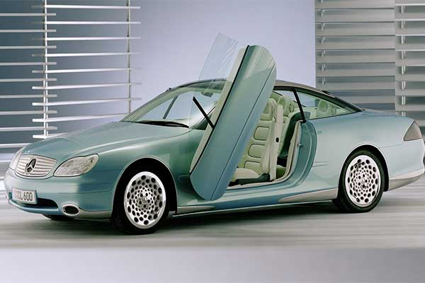 Mercedes-Benz's Hyperscreen Isn't A New Concept As It Dates Back To The 90s