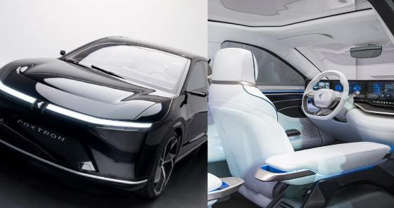 A Peek Inside iPhone 12 Maker's Foxtron Model E Electric Car - autojosh