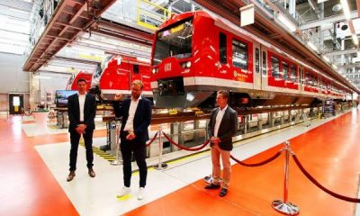 Germany Launches World's First Automated Driverless Train - autojosh