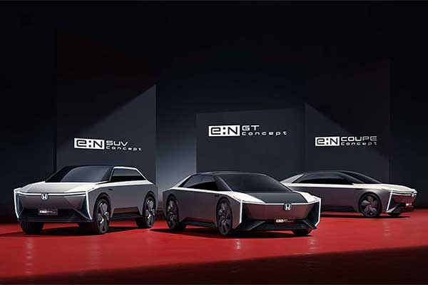 Honda Goes Full Electric In China, Set To Introduce 5 New Cars From 2022