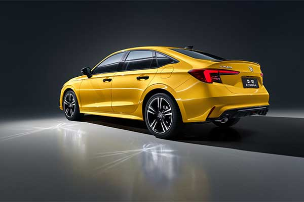 Honda Integra Returns In The Guise Of A Sportier Civic For China