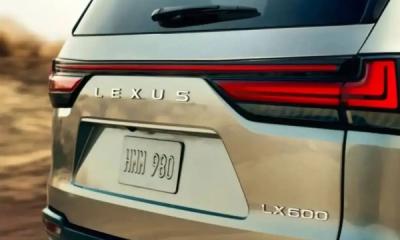 Lexus Teases 2022 LX 600 That Will Be Launched On October 13 - autojosh