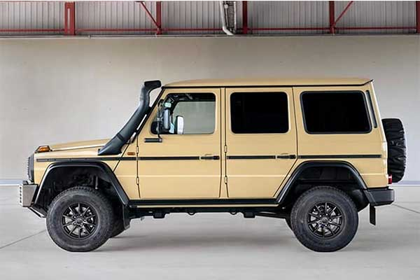 Mercedes-Benz Launches Military-Spec G-Wagon For 2022