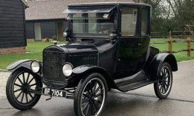 October 1st : Ford Model T, The First Affordable Car, Hits The Market 113 Years Ago - autojosh