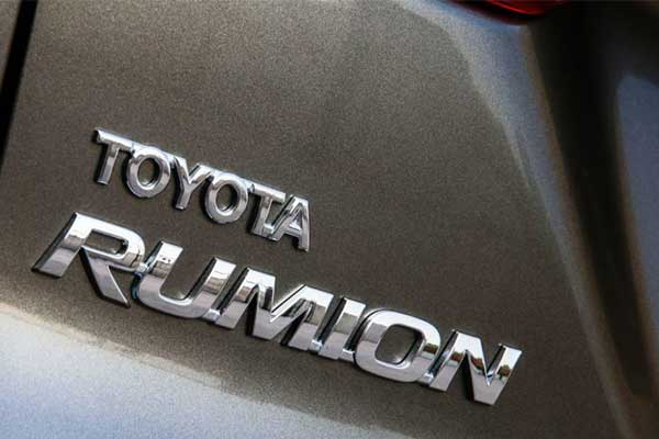 Toyota Launches Suzuki Based Rumion MPV For Africa Market (Photos)