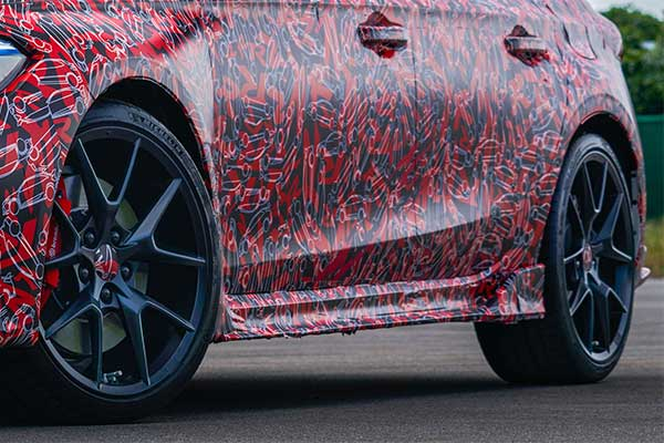 Honda Teases Civic Type-R In Full Camo Ahead Of Its 2023 Launch